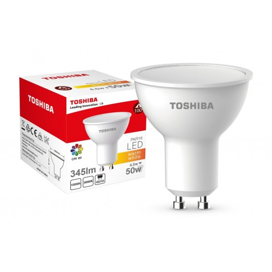 ΛΑΜΠΑ LED GU10 PAR16 4.5W 3000K DIMMABLE