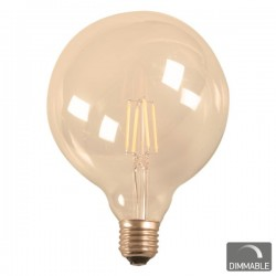 ΛΑΜΠΑ LED FILAMENT GLOBE G120 7W 2200K DIM SPOTLIGHT