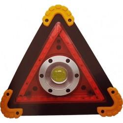 Φορητός προβολέας LED εγρασίας με μπαταρία Alarm τρίγωνο