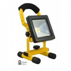 Φορητός επαναφορτιζόμενος προβολέας εργασίας LED 10Watt