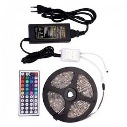 ΣΕΤ ΤΑΙΝΙA LED RGB 12V ΣΤΕΓΑΝΗ 7.2W/m