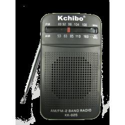 Αναλογικό ραδιόφωνο τσέπης AM/FM Kchibo
