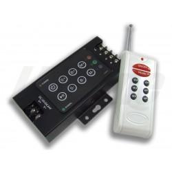 CONTROLLER ΓΙΑ ΤΑΙΝΙΑ LED RGB 12V/24V 8ΚΟΥΜΠΙΑ